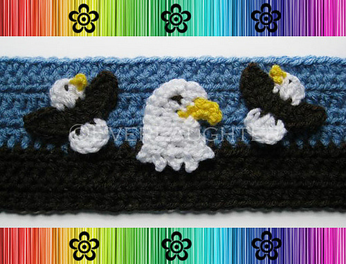 Eagle Applique - Crochet Pattern by EverLaughter
