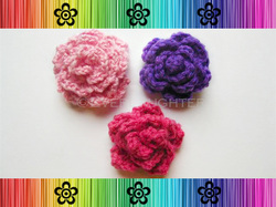 Roses - Crochet Pattern by EverLaughter